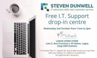 Free I.T. Support drop-in centre - Lagoa Home Store